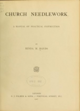 Cover of Church needlework