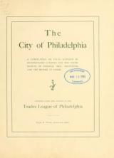 Cover of The City of Philadelphia