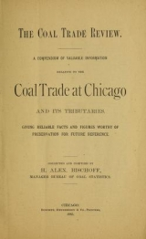 Cover of The coal trade review