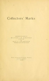 Cover of Collectors' marks