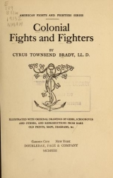 Cover of Colonial fights and fighters