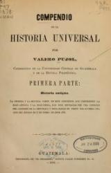Cover of Compendio de la historia universal