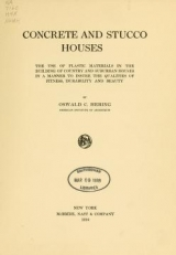 Cover of Concrete and stucco houses