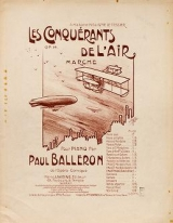 Cover of Les conquérants de l'air