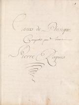 Cover of Cours de physique