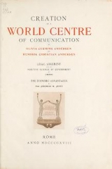 Cover of Creation of a world centre of communication