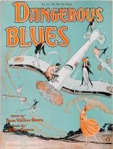 "Cover of ""Dangerous blues"""