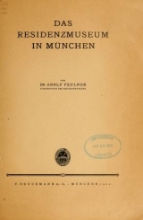 "Cover of ""Das Residenzmuseum in München /"""