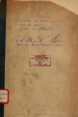 Cover of Datos referentes á una especie nueva de escritura geroglífica en México