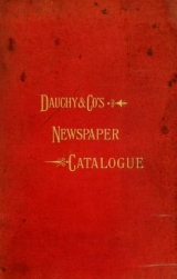 Cover of The Dauchy Co.'s newspaper catalogue