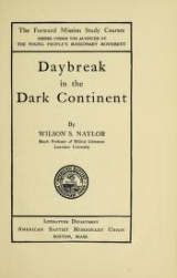 Cover of Daybreak in the dark continent