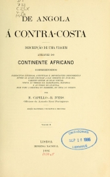 Cover of De Angola á contra-costa