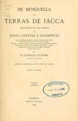 Cover of De Benguella ás terras de Iácca