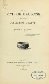 Cover of De la poterie gauloise