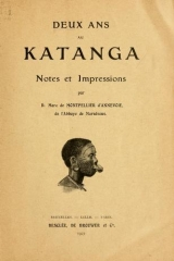 Cover of Deux ans au Katanga