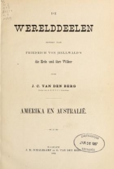 Cover of De werelddeelen