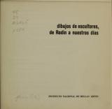 Cover of Dibujos de escultores