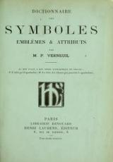 Cover of Dictionnaire des symboles, emblèmes & attributs