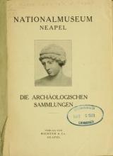 Cover of Die archäologischen Sammlungen