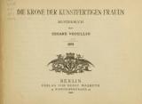 """Cover of """"Die Krone der kunstfertigen Frauen"""""""