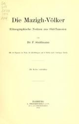 Cover of Die Mazigh-völker
