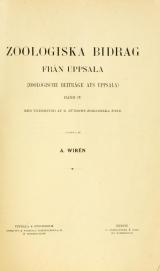 Cover of Die polynoiden der schwedischen Südpolarexpedition, 1901-1903