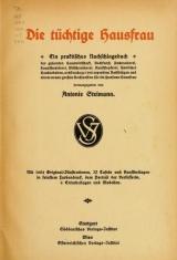 Cover of Die tüchtige Hausfrau