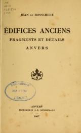 Cover of Édifices anciens