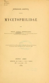 Cover of Dipterologia Argentina