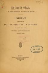 Cover of Don Diego de Peñalosa y su descubrimiento del reino de Quivira