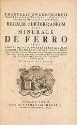 Cover of Emanuelis Swedenborgii Opera philosophica et mineralia