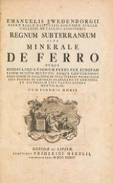 Cover of Emanuelis Swedenborgii Opera philosophica et mineralia t. 2