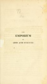 Cover of The Emporium of arts and sciences