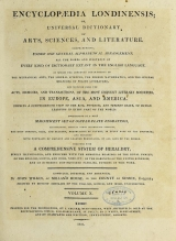 Cover of Encyclopaedia londinensis, or, Universal dictionary of arts, sciences, and literature v.10 (1811)