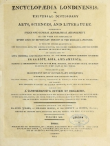Cover of Encyclopaedia londinensis, or, Universal dictionary of arts, sciences, and literature v.12 (1814)