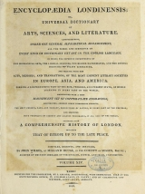 Cover of Encyclopaedia londinensis, or, Universal dictionary of arts, sciences, and literature v.14 (1816)