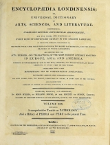 Cover of Encyclopaedia londinensis, or, Universal dictionary of arts, sciences, and literature v.19 (1823)