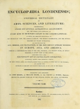 Cover of Encyclopaedia londinensis, or, Universal dictionary of arts, sciences, and literature v.23 (1828)