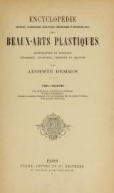 Cover of Encyclopédie historique, archéologique, biographique, chronologique et monogrammatique des beaux-arts plastiques