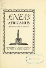 Cover of Eneas Africanus ; Eneas Africanus, defendant