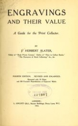 Cover of Engravings and their value