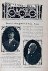 Cover of Le Esposizioni del 1911