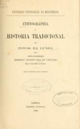 Cover of Ethnographia e historia tradicional dos povos da Lunda