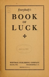 Cover of Everybody's book of luck