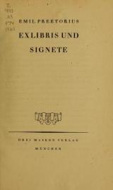 Cover of Ex Libris und Signete