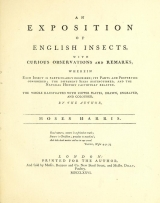 Cover of An exposition of English insects