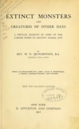 Cover of Extinct monsters and creatures of other days