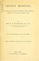 Cover of Extinct monsters