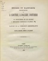 Cover of Études et rapports techniques sur la bijouteri