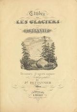 Cover of Études sur les glaciers atlas